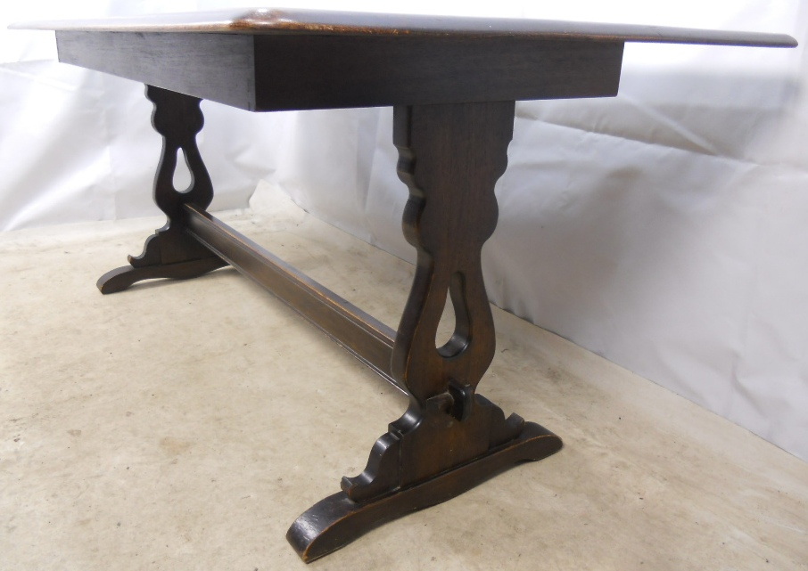 Ercol Dark Elm Refectory Dining Table to Seat Eight   SOLD. Dark Elm Refectory Dining Table to Seat Eight   SOLD